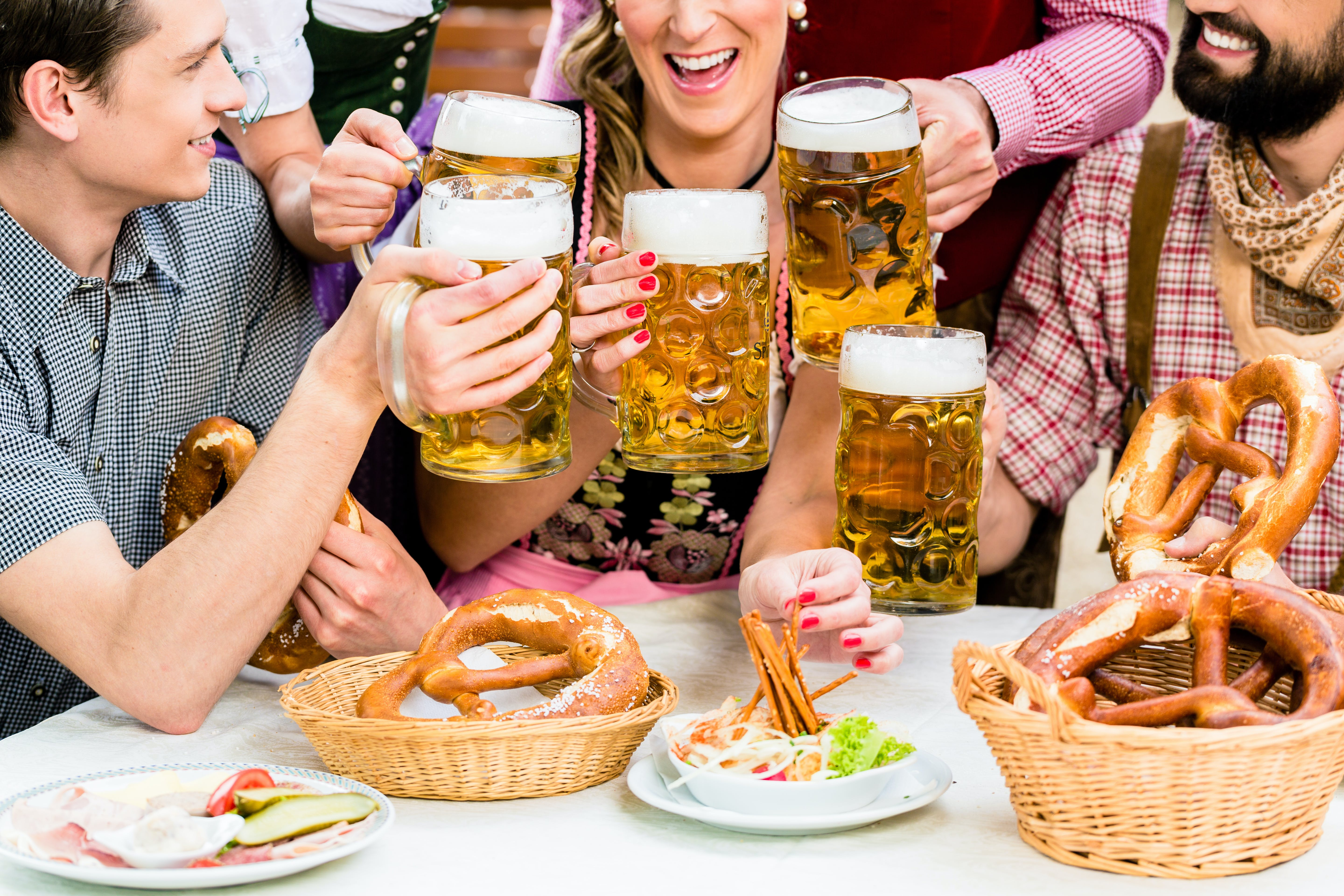 Enjoy beer garden's and the best Munich has to offer during Oktoberfest.