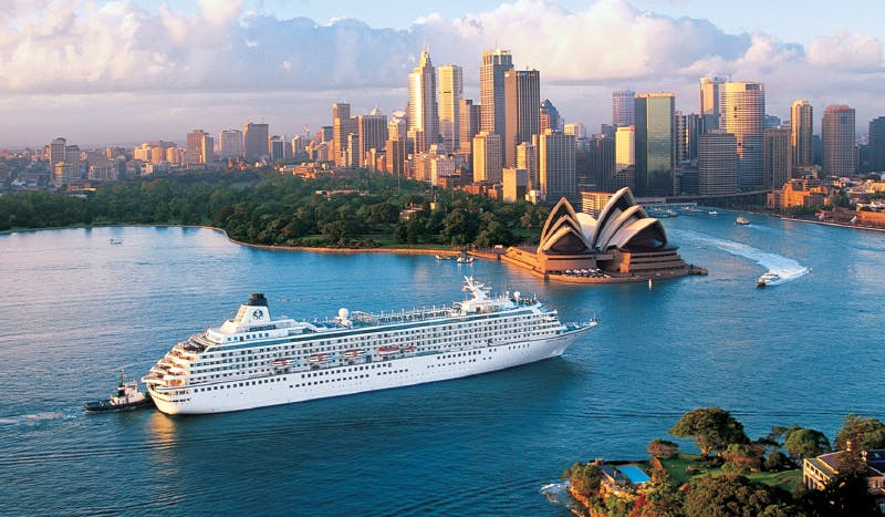 Crystal Cruises spends extra time in Sydney, Australia.