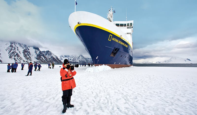 Channel your inner photo-journalist on a Natural Geographic led polar journey with Lindblad.