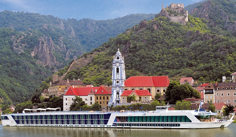 River cruises dock just steps from Europe's most famous sites.
