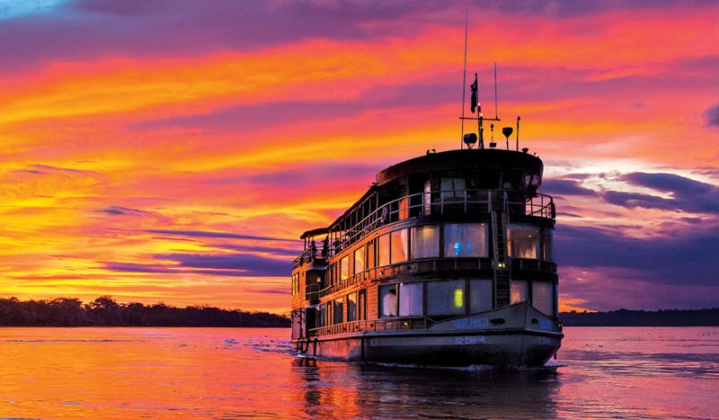 Lindblad's fleet has a mix of polar vessels, expedition ships and upscale river boats for exploring remote shorelines.