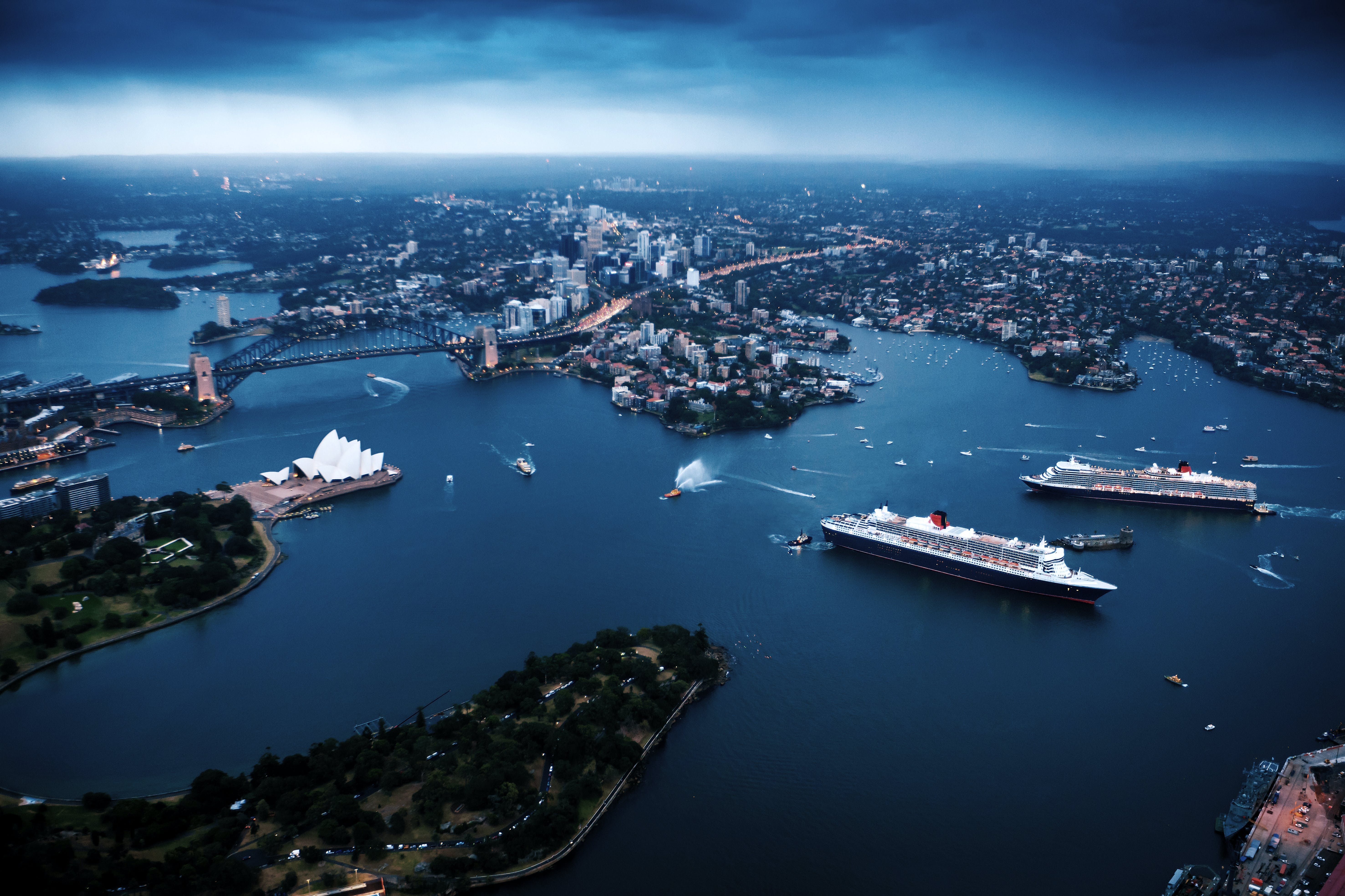 Cunard's 2021 New World and Exotic Voyages