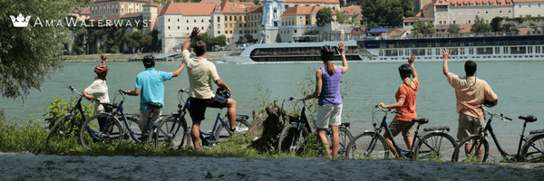 Bikes are included aboard AmaWaterways.