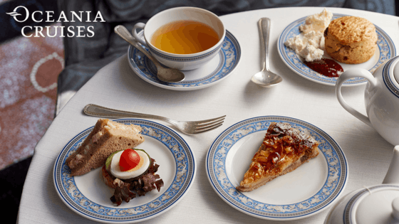 Afternoon Tea - Oceania Cruises