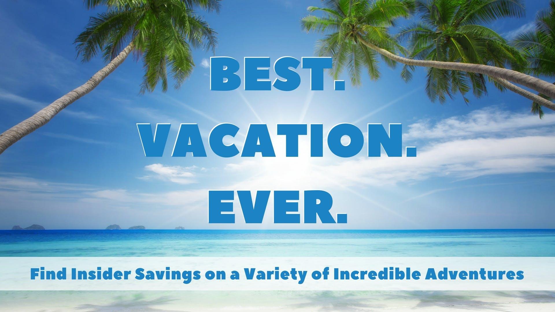Summer Cruise Sale