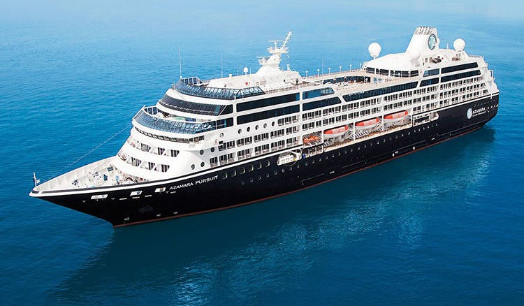 Azamara Pursuit will be sailing to 61 destinations in 2018-19