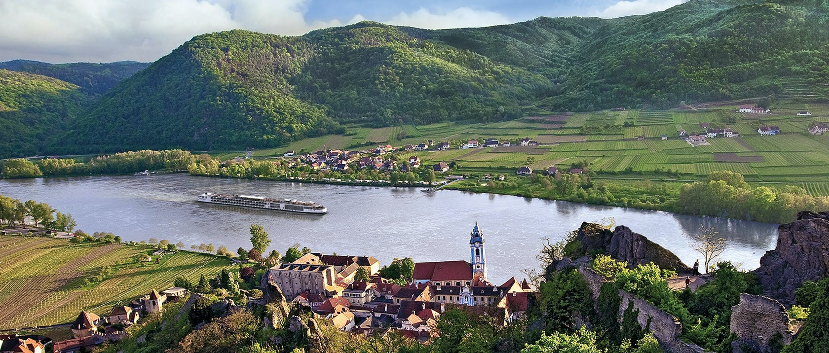Germany's Rhine forms one of the most spellbinding rivers systems in Europe.