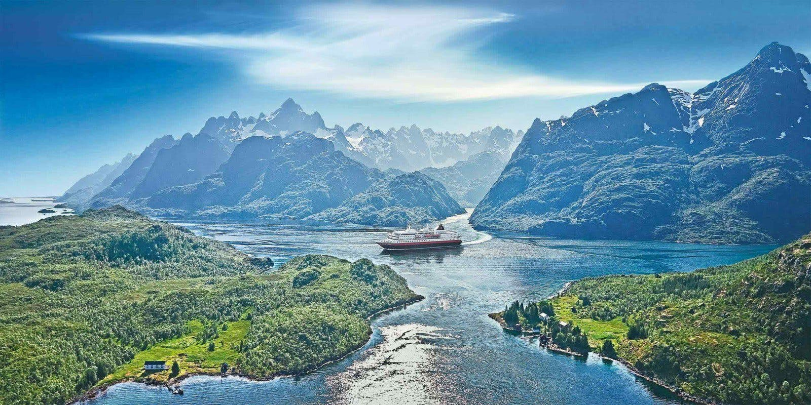 Hurtigruten ships sail into the heart of the Arctic and Antarctica and carefully blend modern facilities with true character.