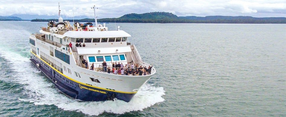National Geograhic Quest's is Lindblad Expeditions newest ship.