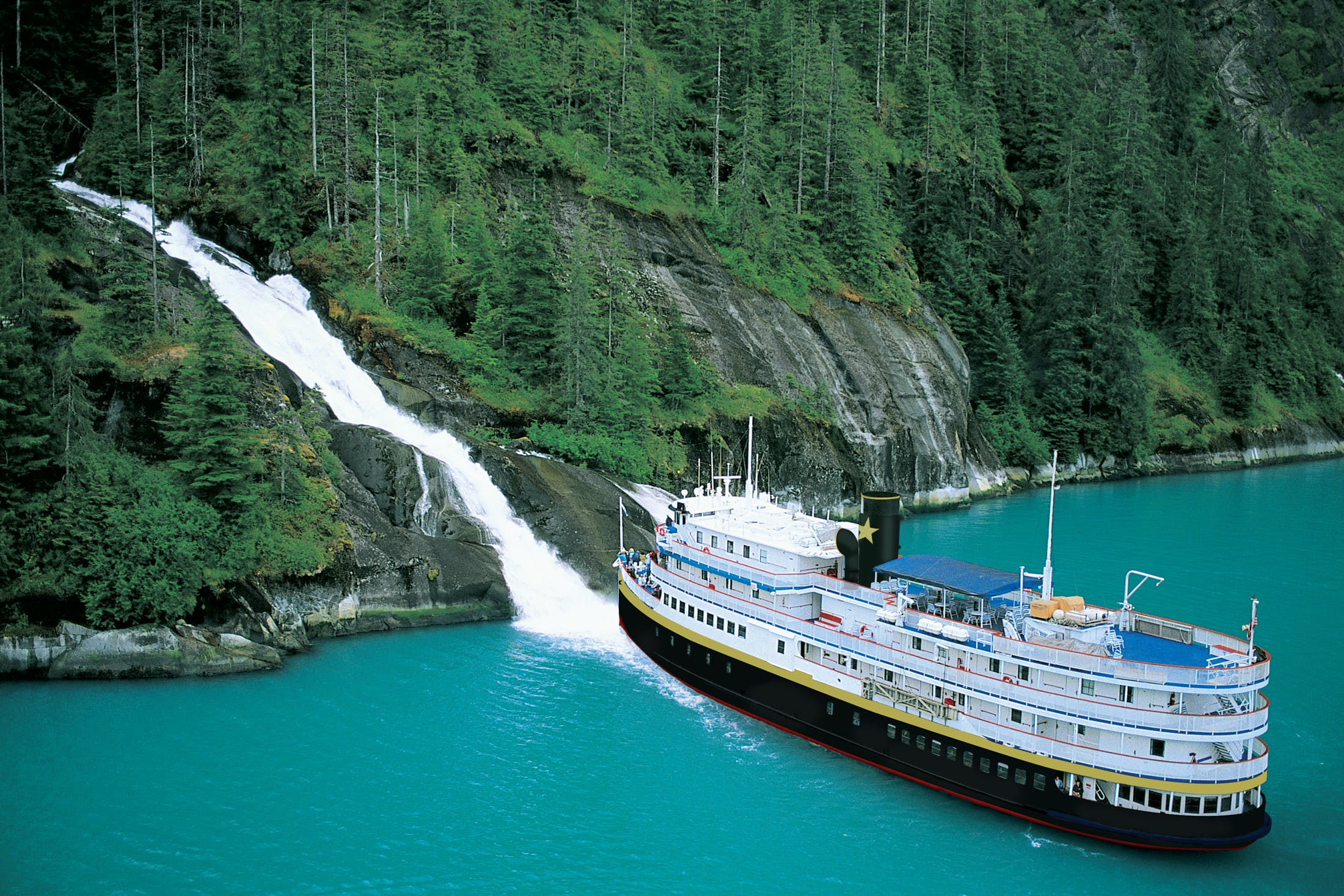 UnCruise Adventures gets you alongside waterfalls, fjords, glaciers and more of the world's most remote places.