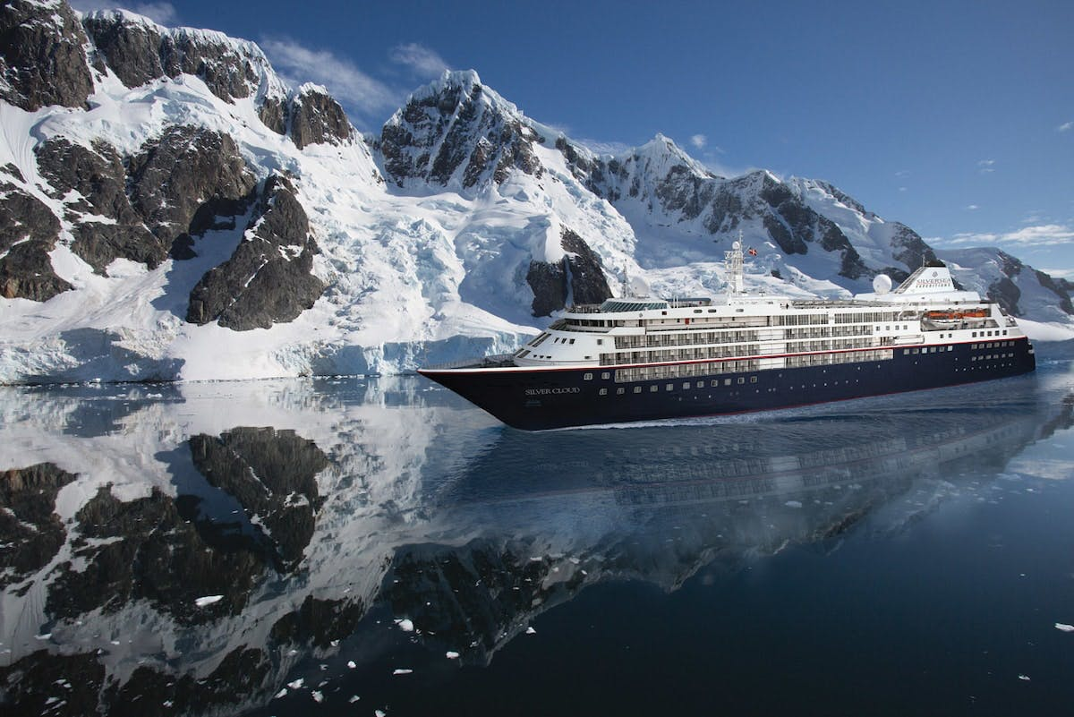 Silver Cloud breaks the ice between expedition and luxury.