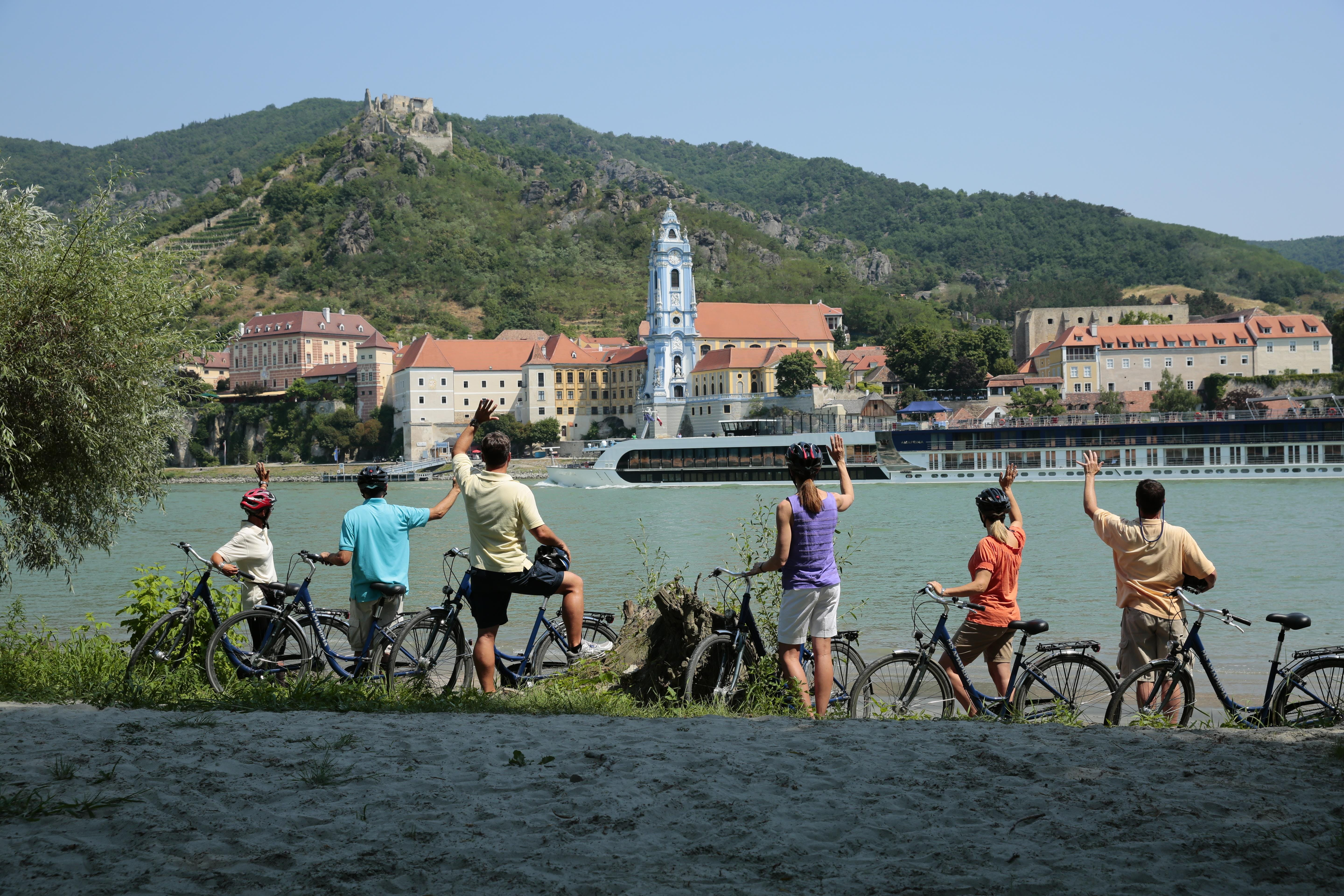 AmaWaterways journeys include bicycles for forging new paths as a family.