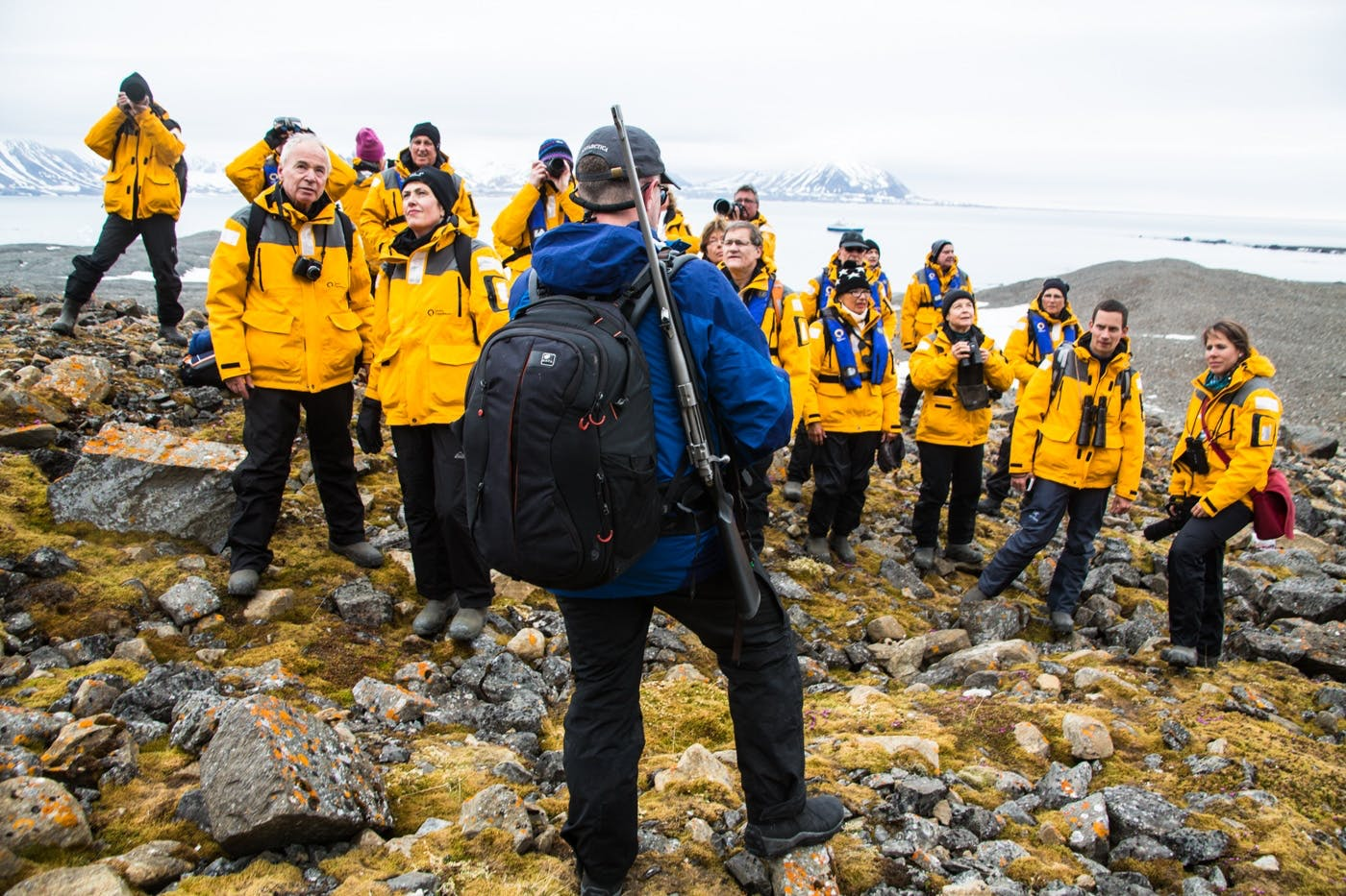 Quark's Expedition team members are all polar-passionate, veteran guides with backgrounds in marine biology, history, geology and more.