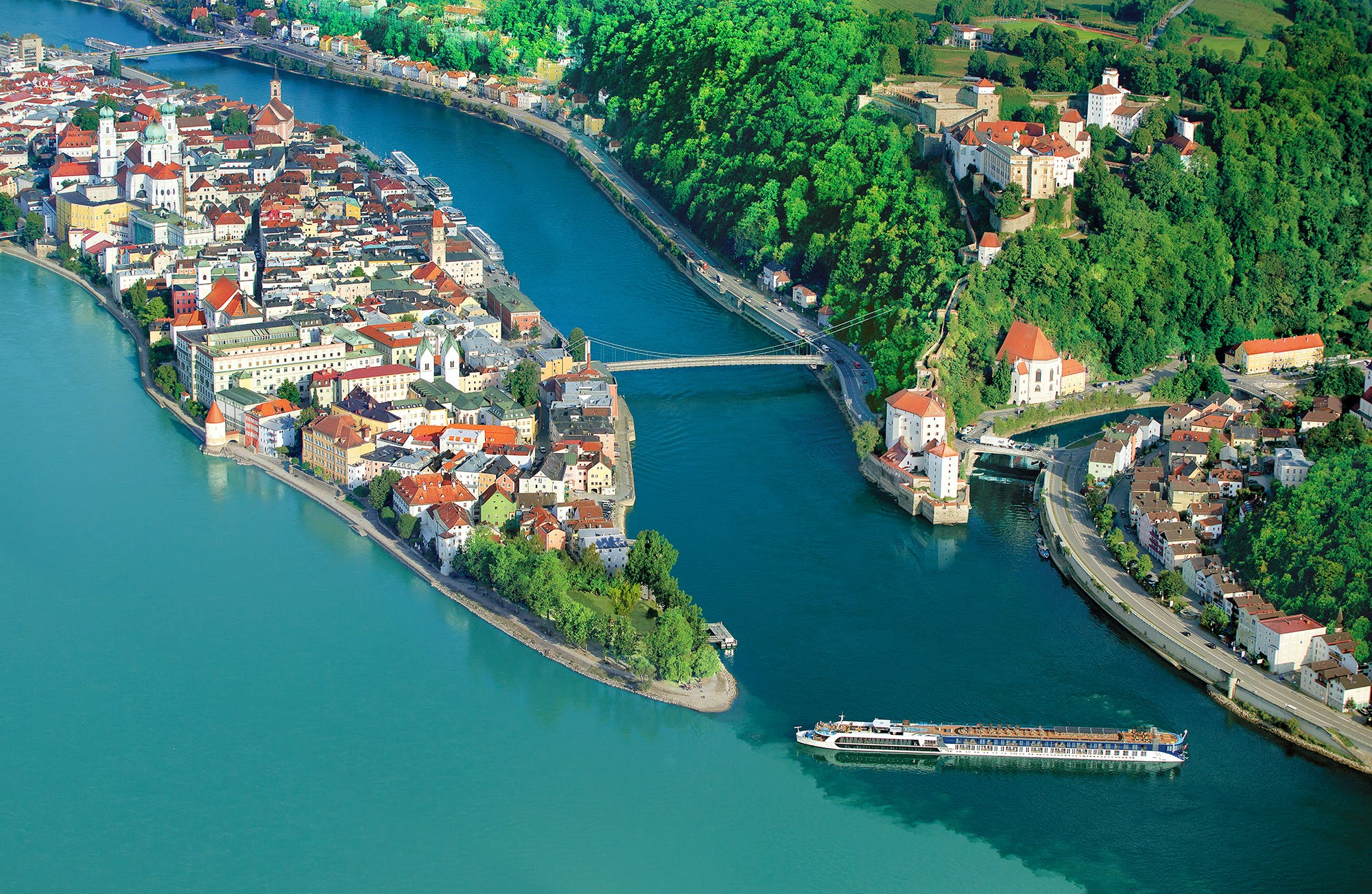 Free Air on AmaWaterways River Cruises
