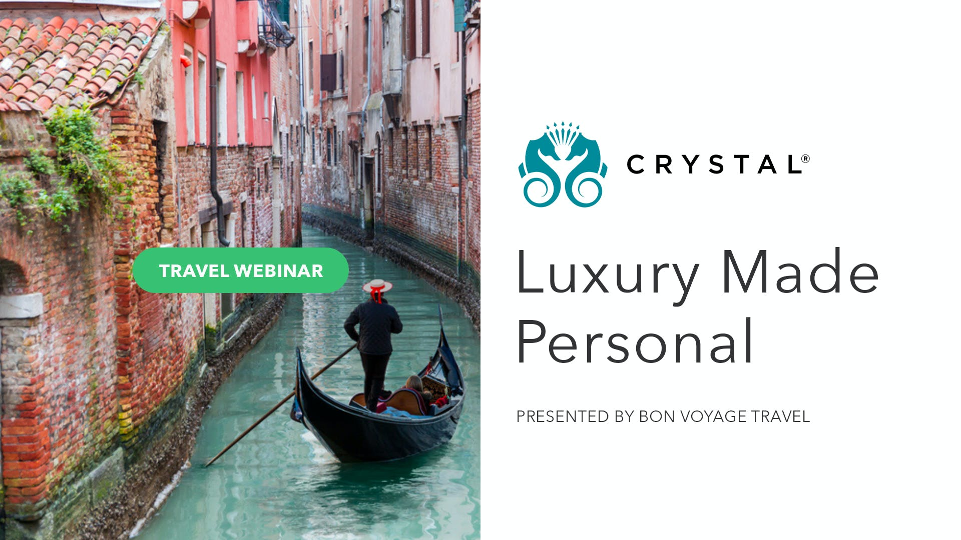 Luxury Made Personal With Crystal Cruises
