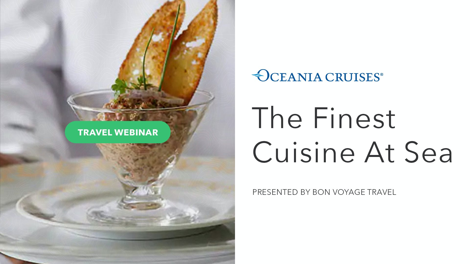 Oceania Cruises Finest Cuisine at Sea