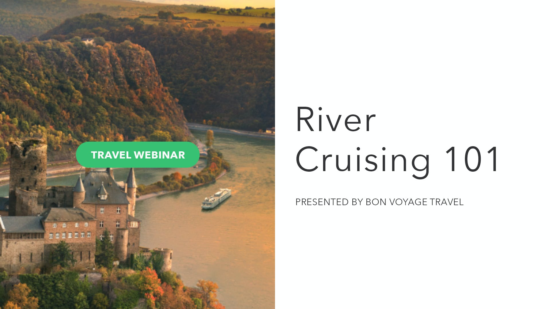 River Cruising 101: A Deep Dive Into Travel's Hottest Trend!