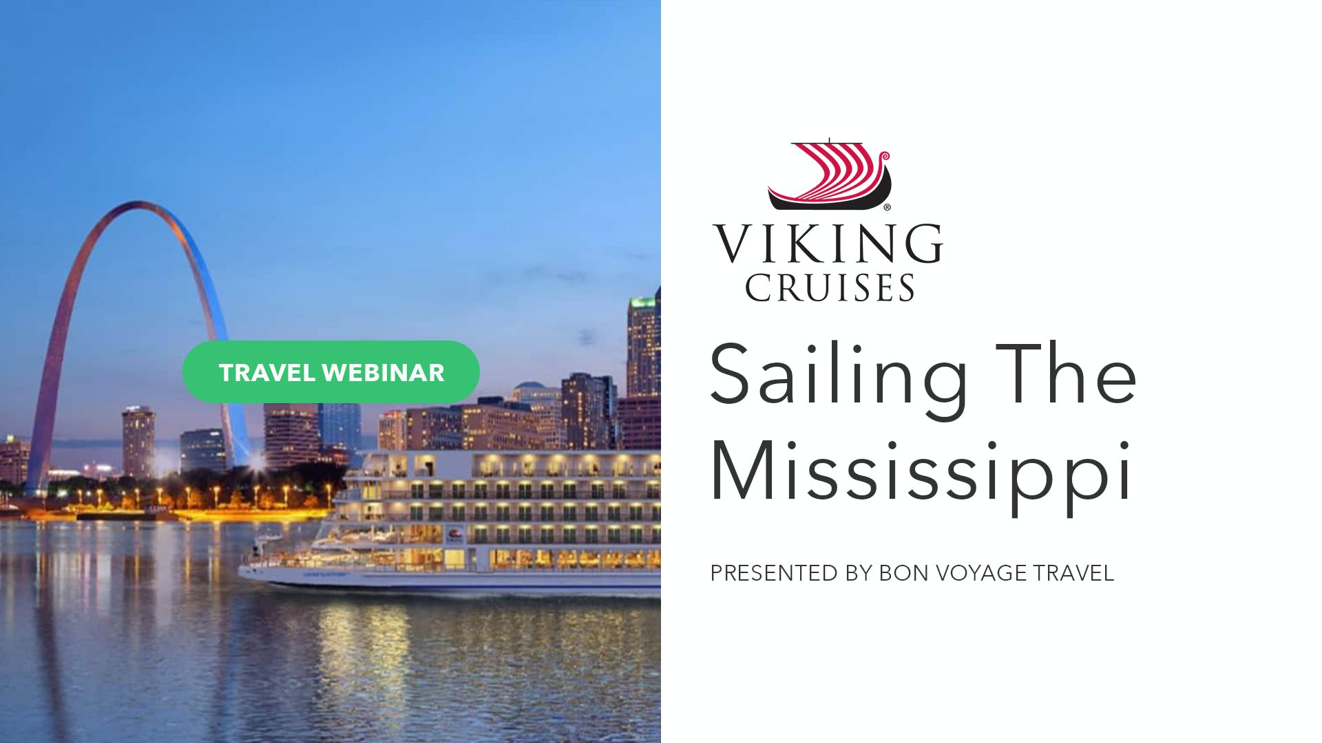 Sailing The Mississippi With Viking River Cruises