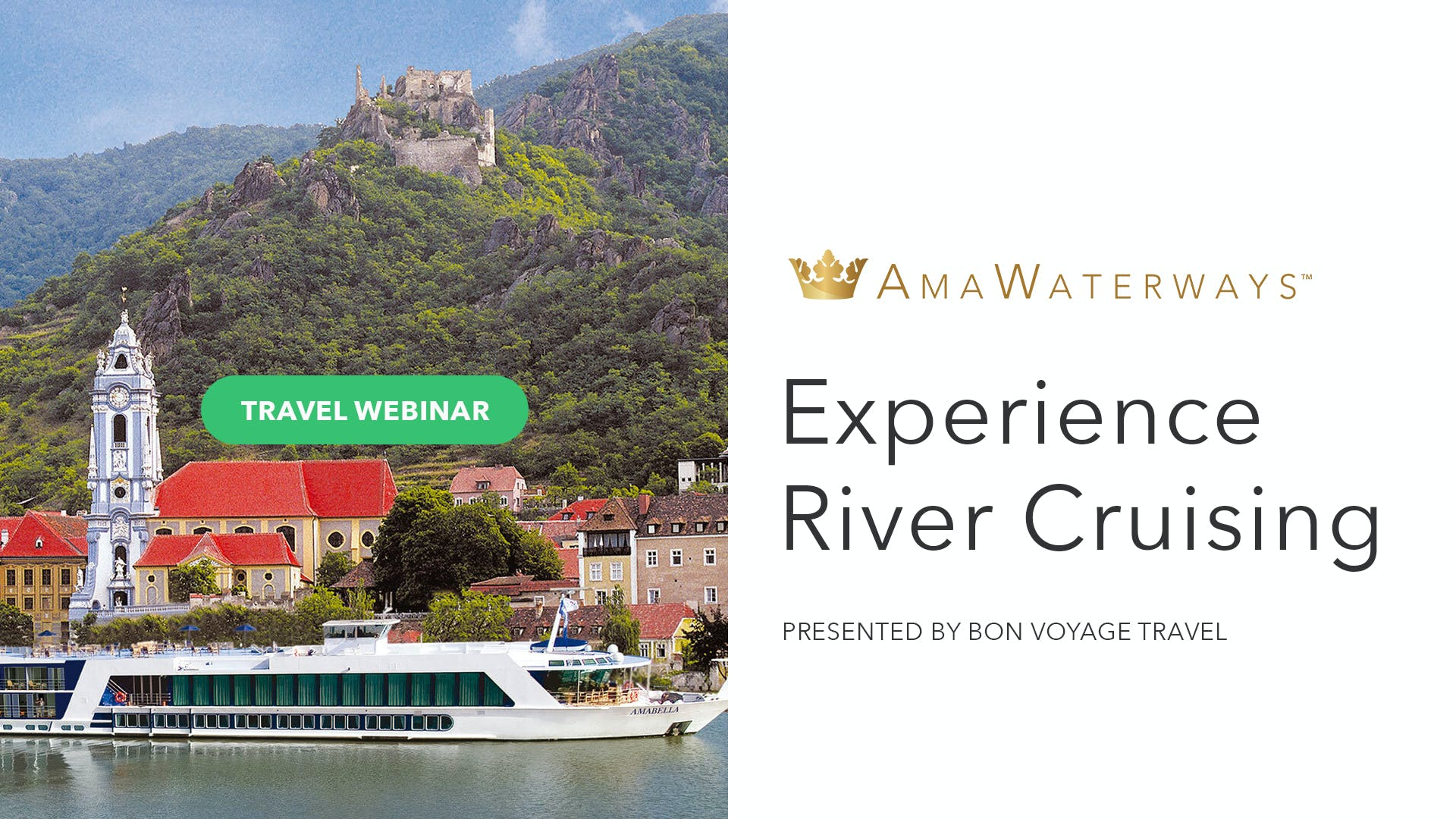 River Cruising With AmaWaterways