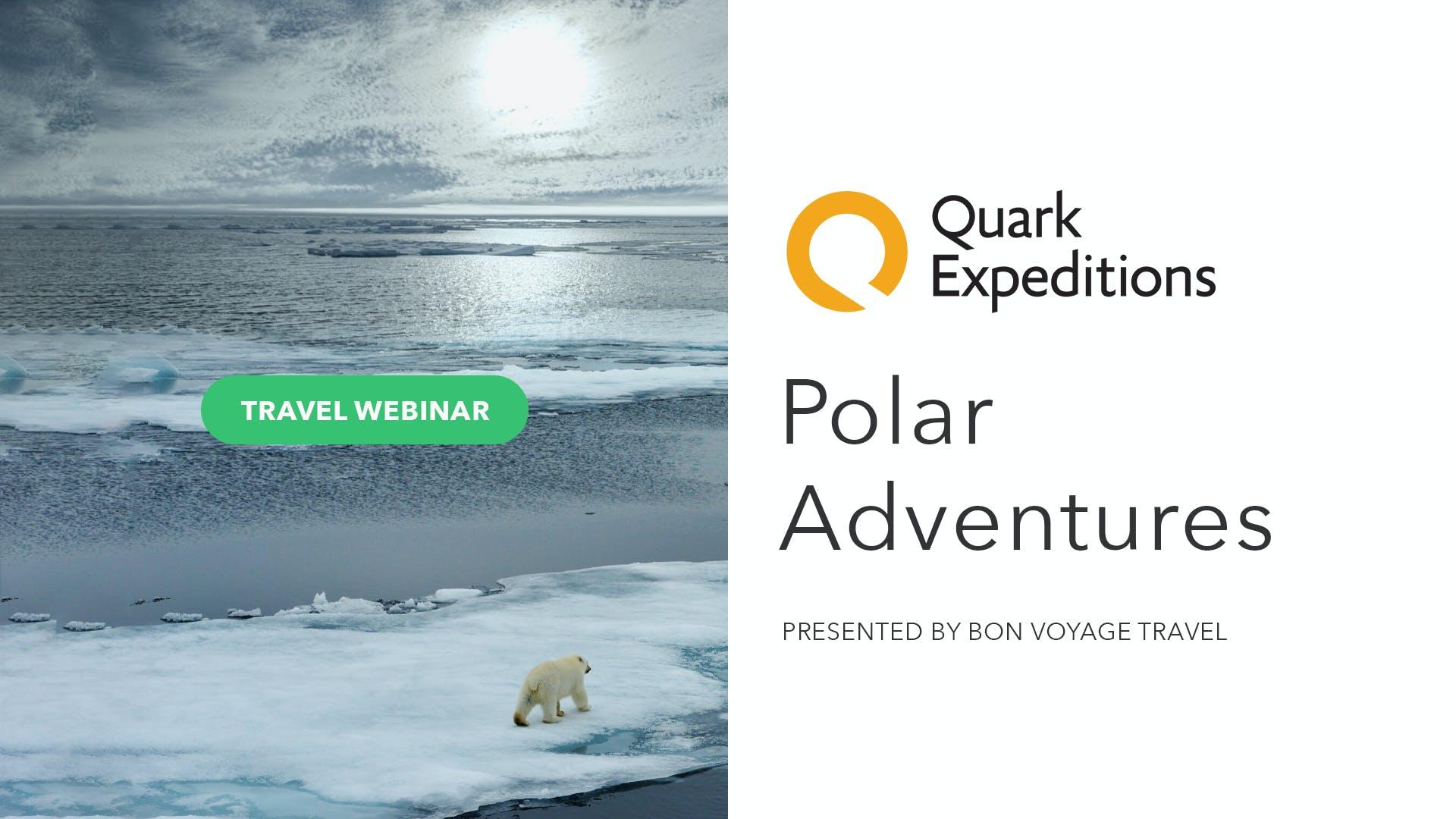 Polar Adventures with Quark Expeditions
