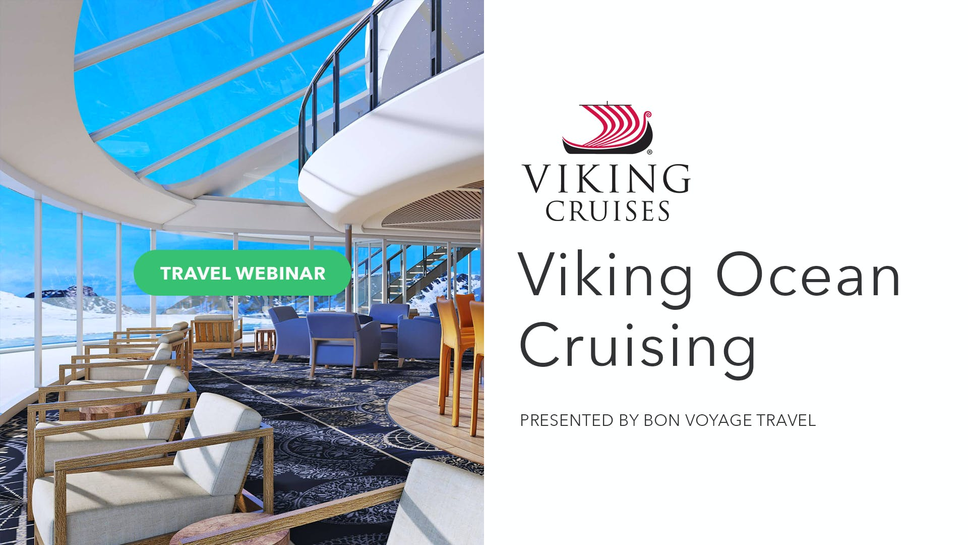 Explore The World with Viking Ocean Cruises