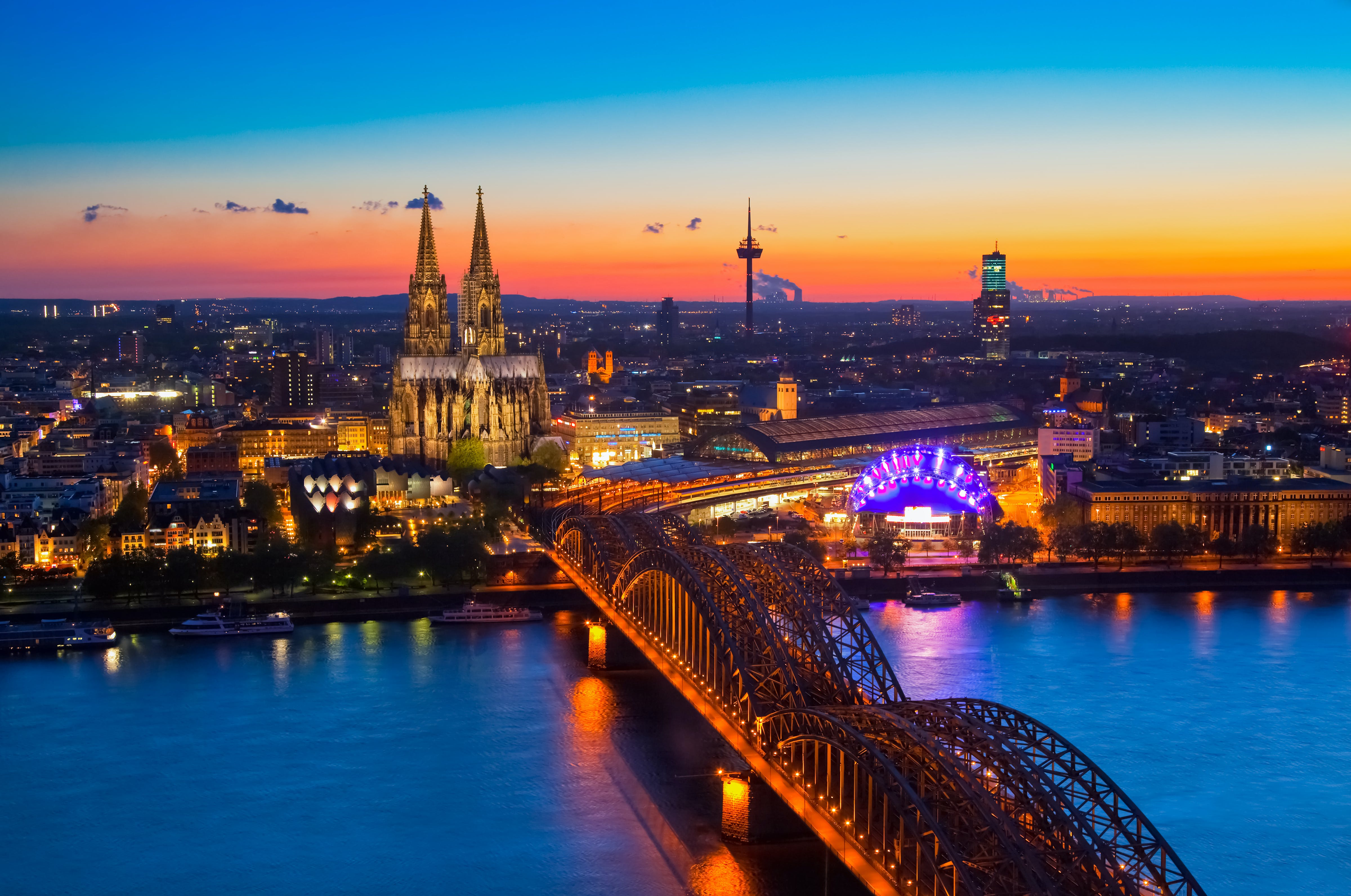 Rhine River voyages include overnights in some of Europe's most beautiful cities and magically quaint villages.